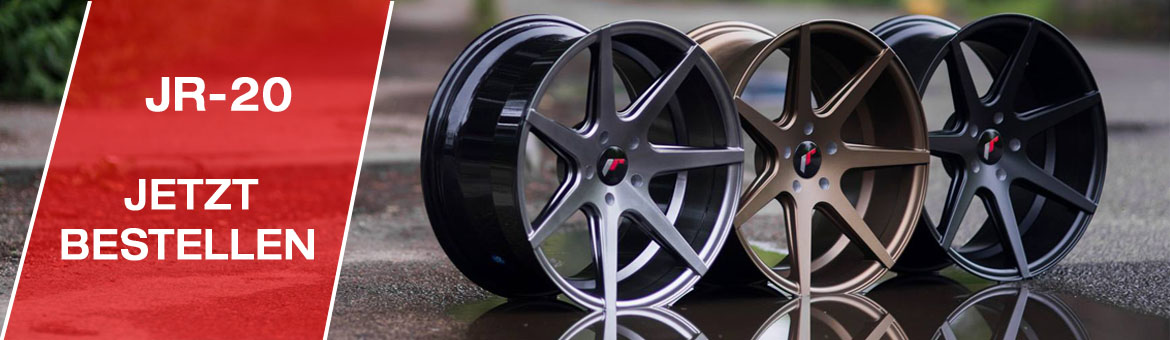 JR-20 Wheels Neu