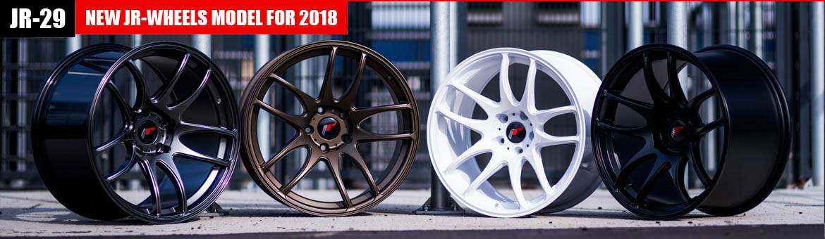 JR-29 Wheels / Felgen Neu - Japan Racing