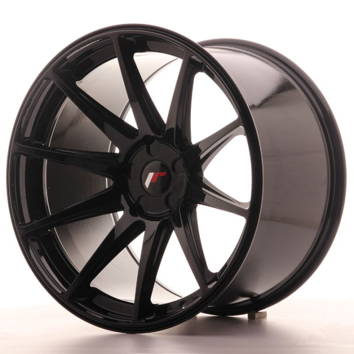 Japan Racing Wheels - JR-11 Glossy Black (20x12 Zoll)