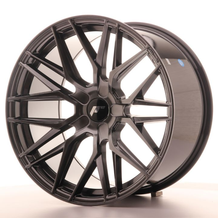 Japan Racing Wheels - JR-28 Hiper Black (19x10.5 Zoll)