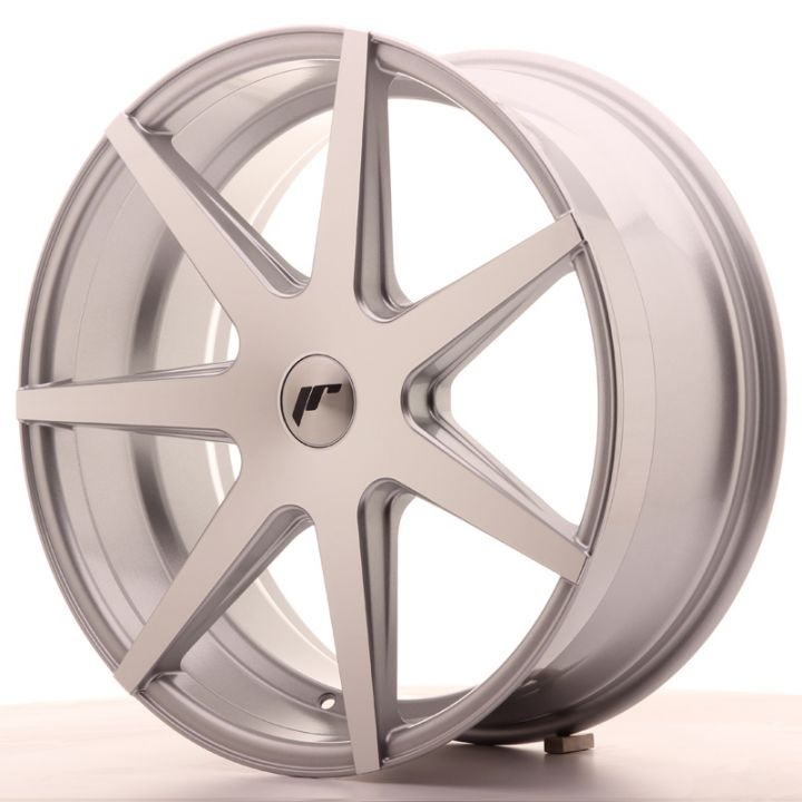 Japan Racing Wheels - JR-20 Silver Machined (20x8.5 inch)