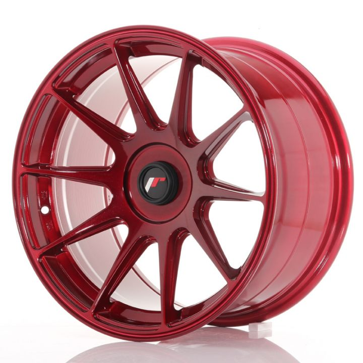 Japan Racing Wheels - JR-11 Plat Red (17x9 inch)