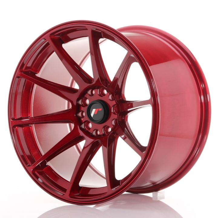 Japan Racing Wheels - JR-11 Plat Red (18x10.5 inch)