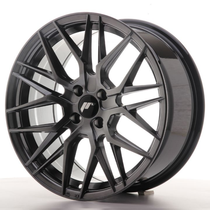 Japan Racing Wheels - JR-28 Hyper Black (17x8 Zoll)