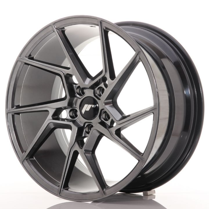 Japan Racing Wheels - JR-33 Hyper Black (19x9.5 inch)