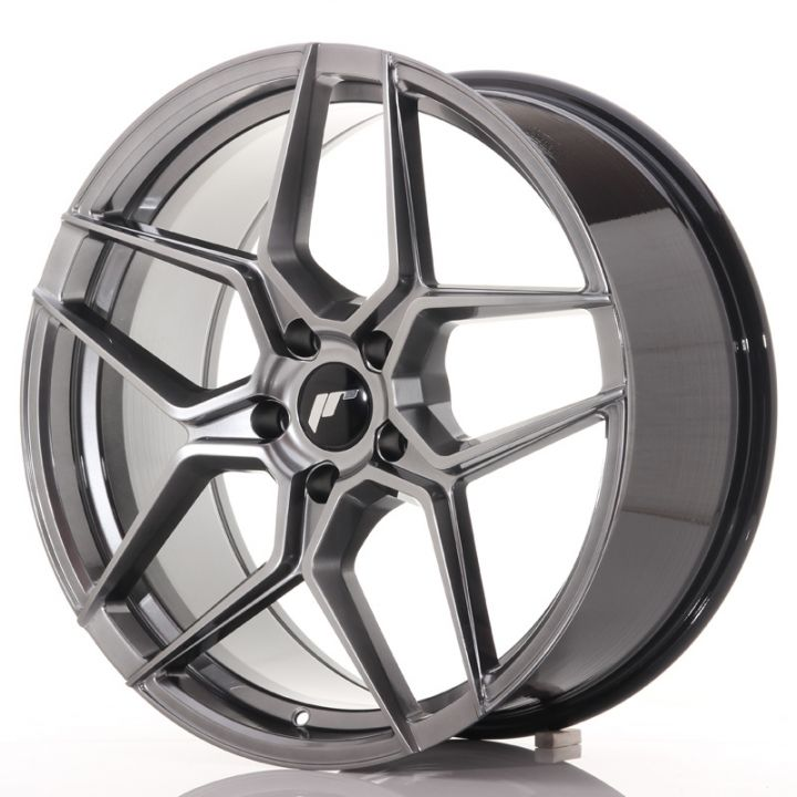 Japan Racing Wheels - JR-34 Hyper Black (19x8.5 inch)