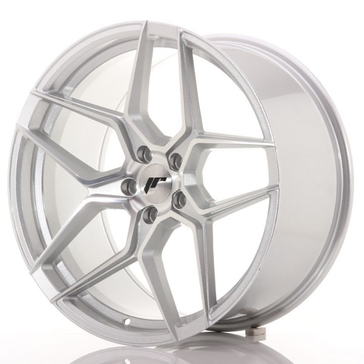 Japan Racing Wheels - JR-34 Silver Machined (20x10 inch)