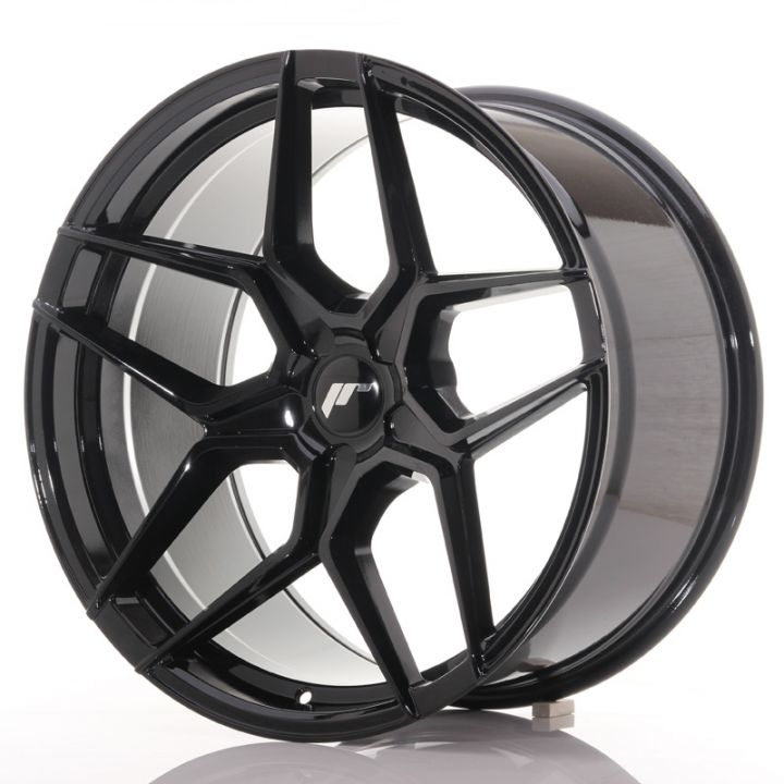 Japan Racing Wheels - JR-34 Glossy Black (20x10.5 inch)