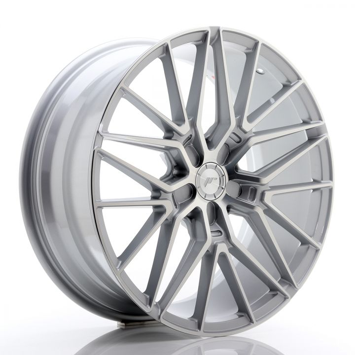 Japan Racing Wheels - JR-38 Silver Machined (19x8.5 inch)