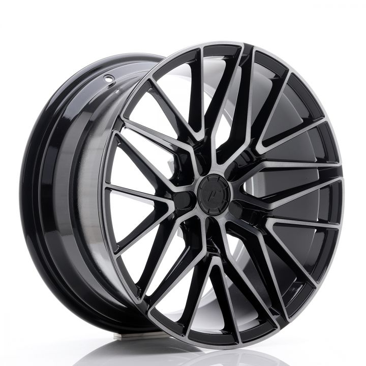 Japan Racing Wheels - JR-38 Black Brushed (18x8 inch)