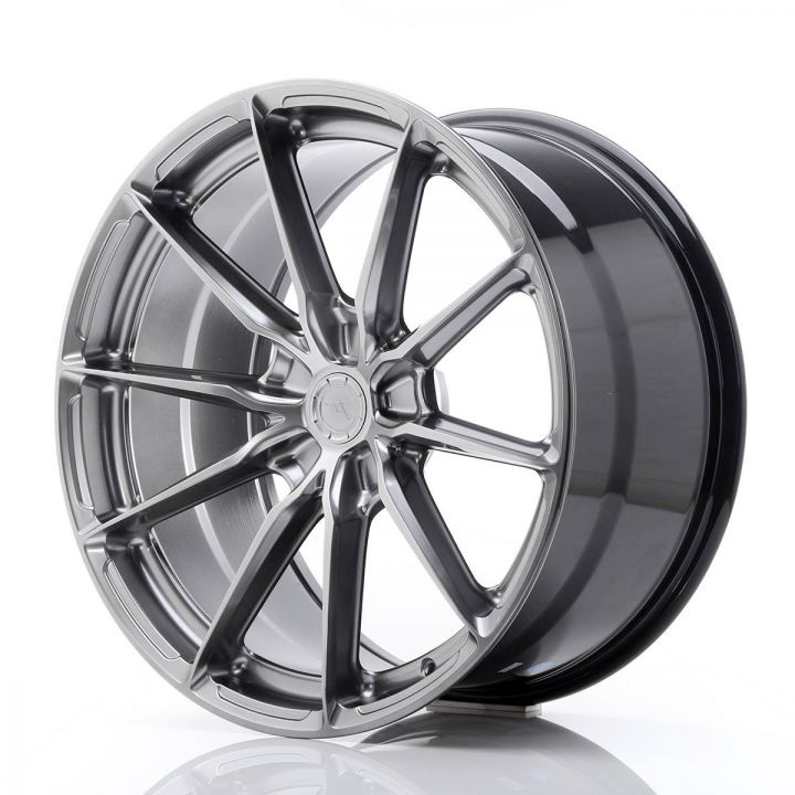 Japan Racing Wheels - JR-37 Hyper Black (20x10 Zoll)