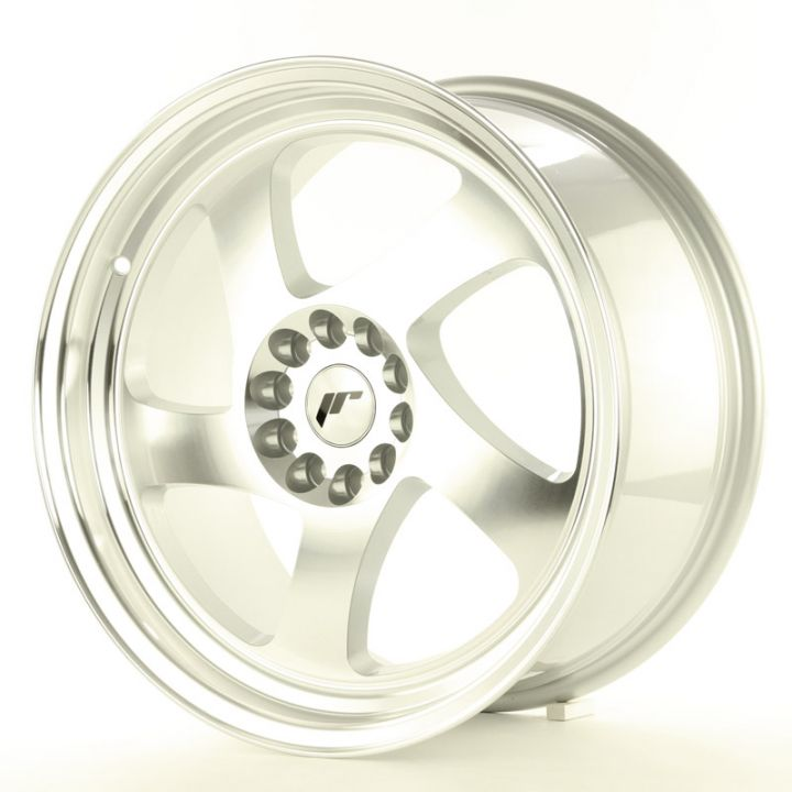 Japan Racing Wheels - JR-15 Machined Silver (18x8.5 Zoll)
