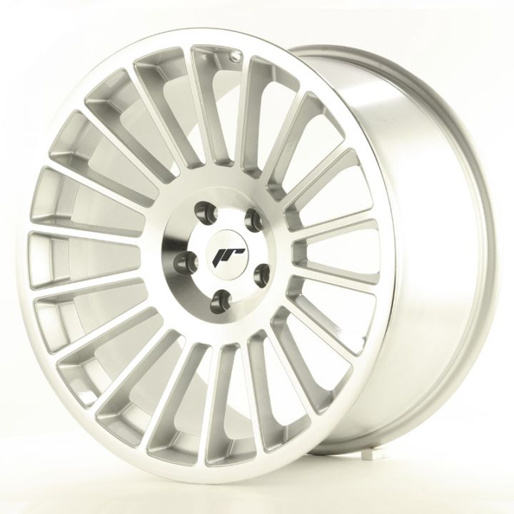 Japan Racing Wheels - JR-16 Silver Machined (19x8.5 inch)