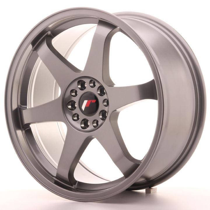 Japan Racing Wheels - JR-3 Gun Metal (19x8.5 inch)