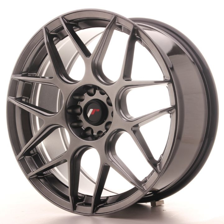 Japan Racing Wheels - JR-18 Hyper Black (19x8.5 Zoll)
