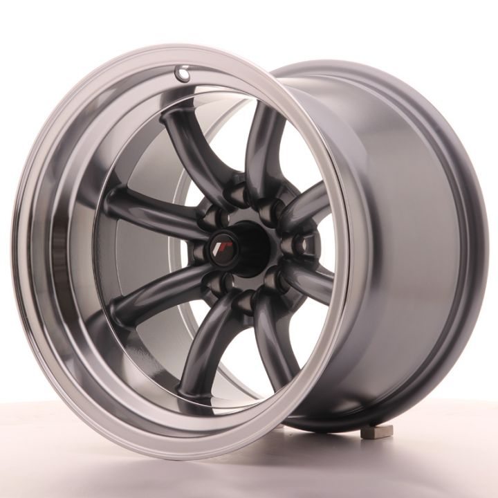 Japan Racing Wheels - JR-19 Gun Metal (15x10.5 inch)