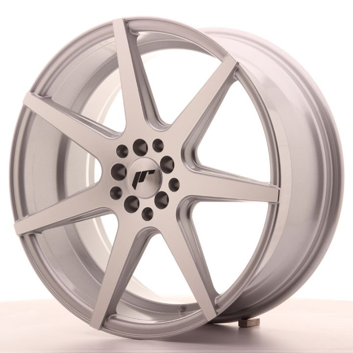 Japan Racing Wheels - JR-20 Silver Machined (19x8.5 Zoll)