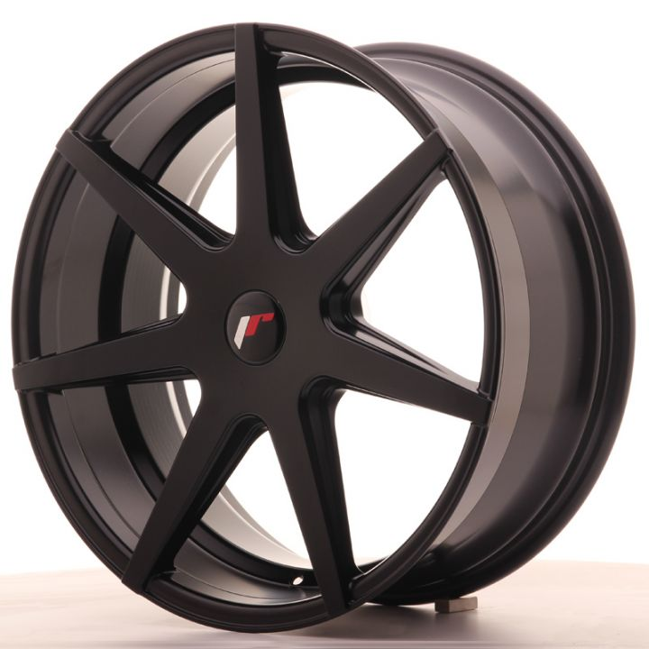 Japan Racing Wheels - JR-20 Matt Black (20x8.5 inch)