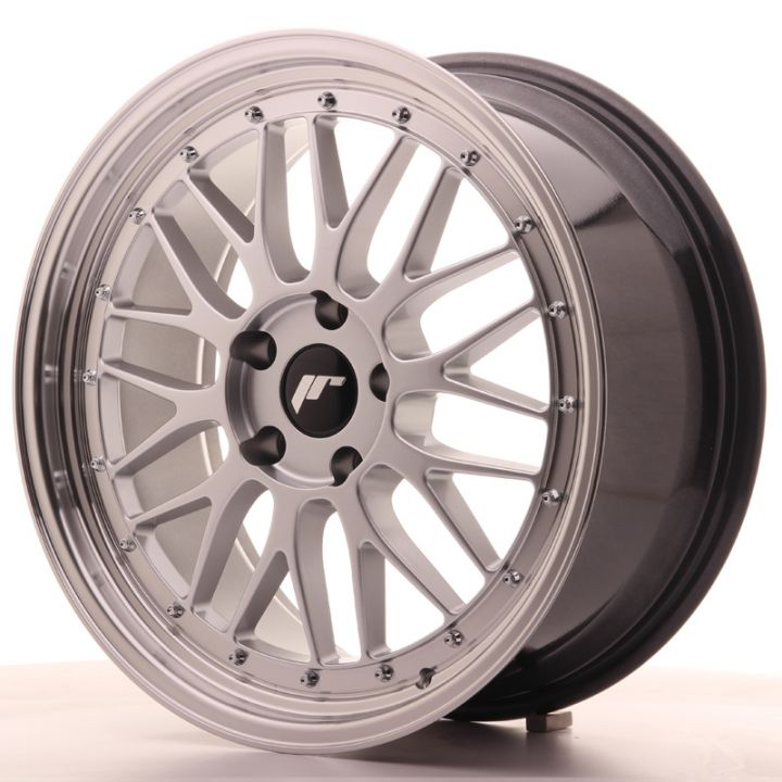 Japan Racing Wheels - JR-23 Hiper Silver (19x8.5 inch)