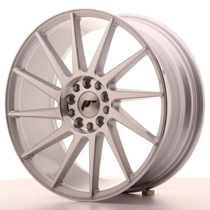 Japan Racing Wheels - JR-22 Silver Machined (18x7.5 inch)