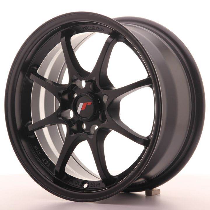 Japan Racing Wheels - JR-5 Matt Black (15x7 inch)