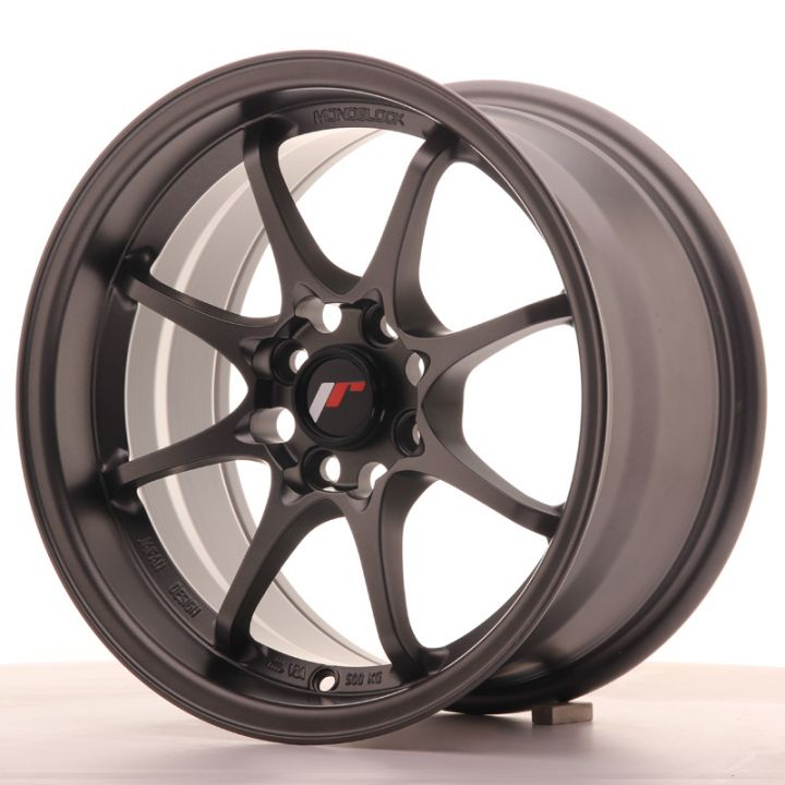 Japan Racing Wheels - JR-5 Matt Gun Metal (15x8 inch)