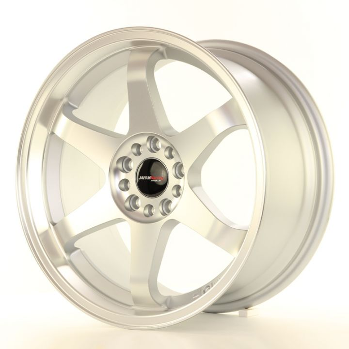 Japan Racing Wheels - JR-3 Matt Silver Machined (18x8 Zoll)