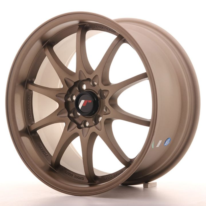 Japan Racing Wheels - JR-5 Dark ABZ (17x8.5 inch)