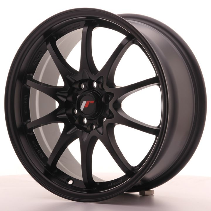 Japan Racing Wheels - JR-5 Matt Black (17x7.5 Zoll)
