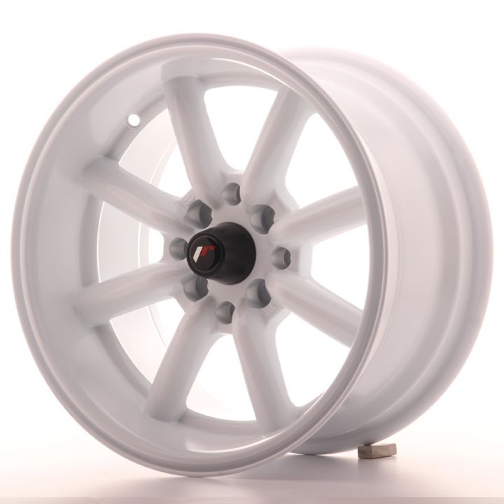 Japan Racing Wheels - JR-19 White (15x8 inch)