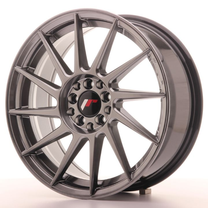 Japan Racing Wheels - JR-22 Hyper Black (17x7 Zoll)
