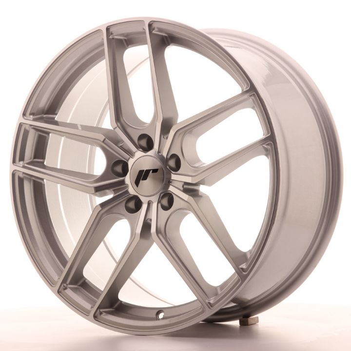 Japan Racing Wheels - JR-25 Silver Machined (19x8.5 Zoll)