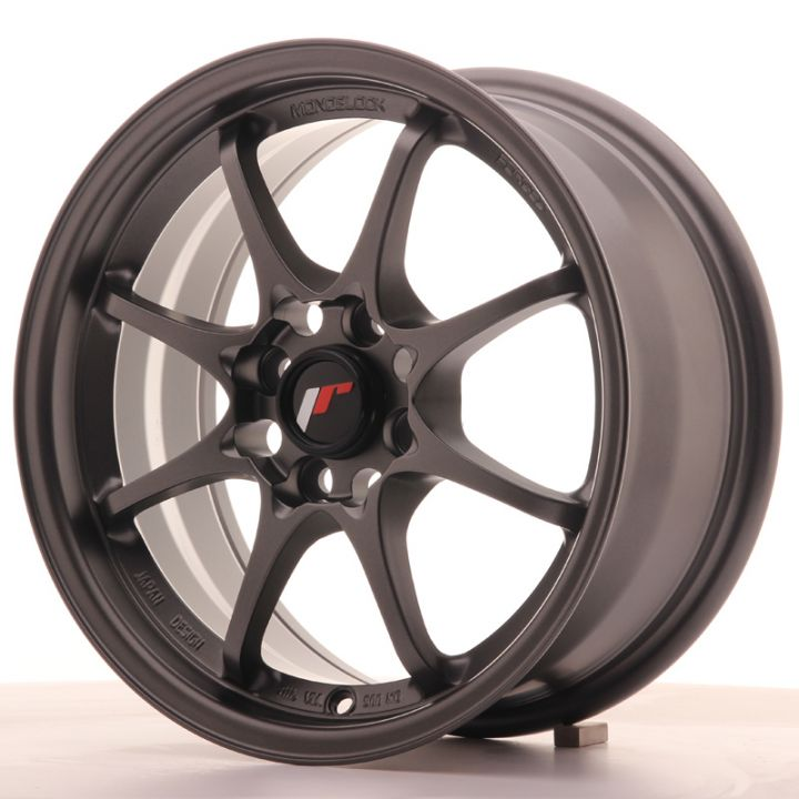 Japan Racing Wheels - JR-5 Flat Gun Metal (15 inch)