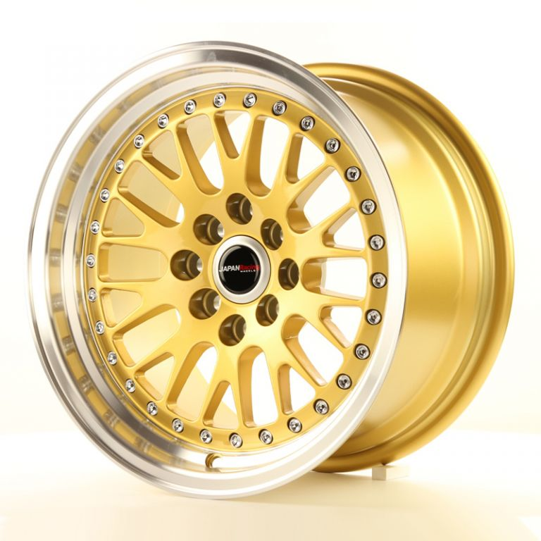 japan racing wheels jr 10 gold 15 zoll japan racing. Black Bedroom Furniture Sets. Home Design Ideas