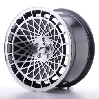 Season Sale - Japan Racing Wheels - JR-14 Black Machined (17x8.5 inch)