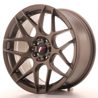 Season Sale - Japan Racing Wheels - JR-18 Matt Bronze (17x8 inch)