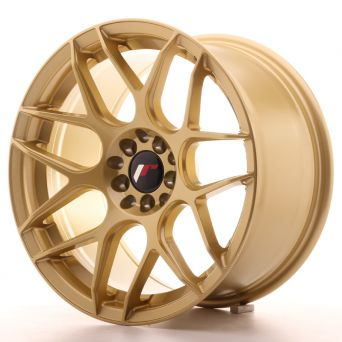 Season Sale - Japan Racing Wheels - JR-18 Gold (17x9 inch)