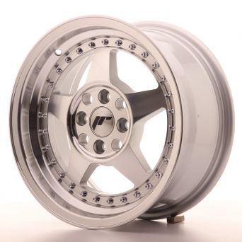 Japan Racing Wheels - JR-6 Silver Machined (15 inch)