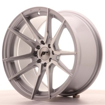 Season Sale - Japan Racing Wheels - JR-21 Silver Machined (17x9 inch)