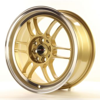 Japan Racing Wheels - JR-7 Gold (16 inch)