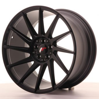Season Sale - Japan Racing Wheels - JR-22 Matt Black (18x9.5 inch)