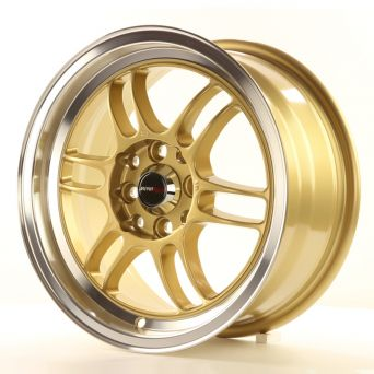 Japan Racing Wheels - JR-7 Gold (15 inch)