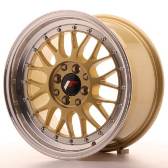 Season Sale - Japan Racing Wheels - JR-23 Gold (16x8 inch)