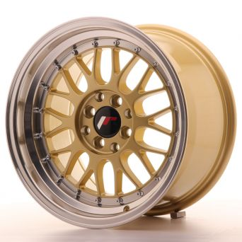 Season Sale - Japan Racing Wheels - JR-23 Gold (16x9 inch)