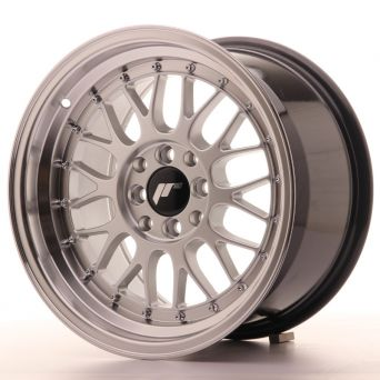 Season Sale - Japan Racing Wheels - JR-23 Hiper Silver (16x9 inch)