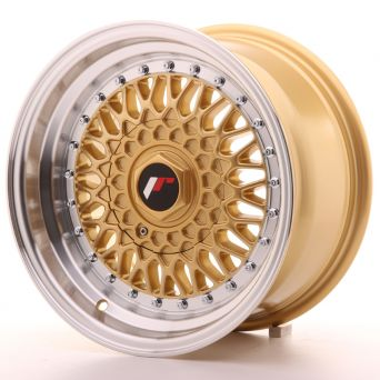 Japan Racing Wheels - JR-9 Gold (15x8 inch)