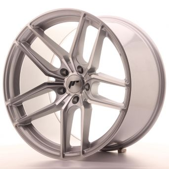 Japan Racing Wheels - JR-25 Silver Machined (19x9.5 inch)