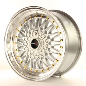 Japan Racing Wheels - JR-9 Silver (17 Zoll)