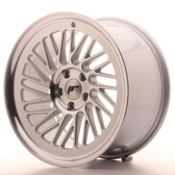 Season Sale - Japan Racing Wheels - JR-27 Machined Silver (18x9.5 Zoll)