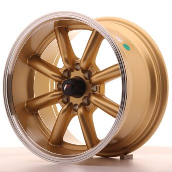 Japan Racing Wheels - JR-19 Gold (15x8 inch)